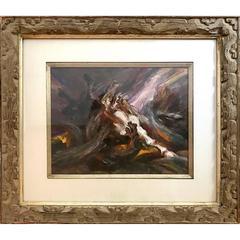 Gustav Rehberger - Apocalyptic Horses #4 1988