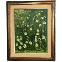 Henri Gadbois Texas Still Life Flower Painting