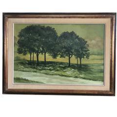 Henri Gadbois Texas Tree Landscape