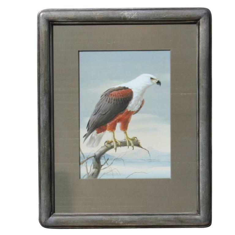 Photo Realist Eagle Painting
