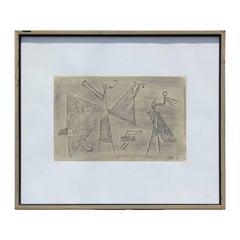 """""""Sumerische Legenden"""" Egyptian Style Print"""
