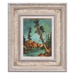 """Fallen Leaf Lake"" Landscape Painting"