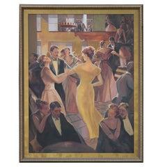 21st Century David R. Johnsen Gala Impressionist Painting
