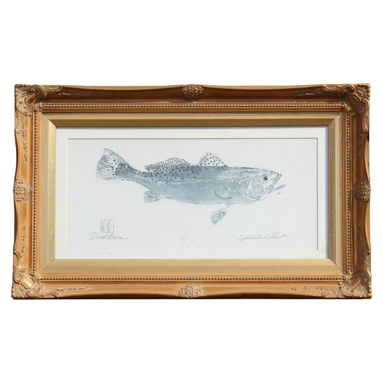 Speckled Trout Print 1/1