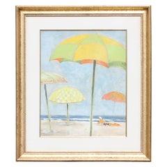 Impressionist Beach Landscape