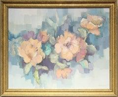"""Camelia""- Pastel Floral Still Life"