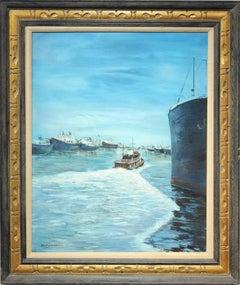 """""""Bay Scene"""" Naturalistic Sea Landscape"""
