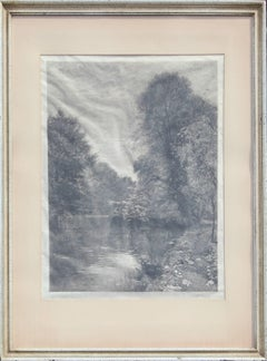 Landscape Engraving Published by Arthur Tooth & Sons