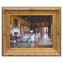 Mansion Interior Architectural Paintings