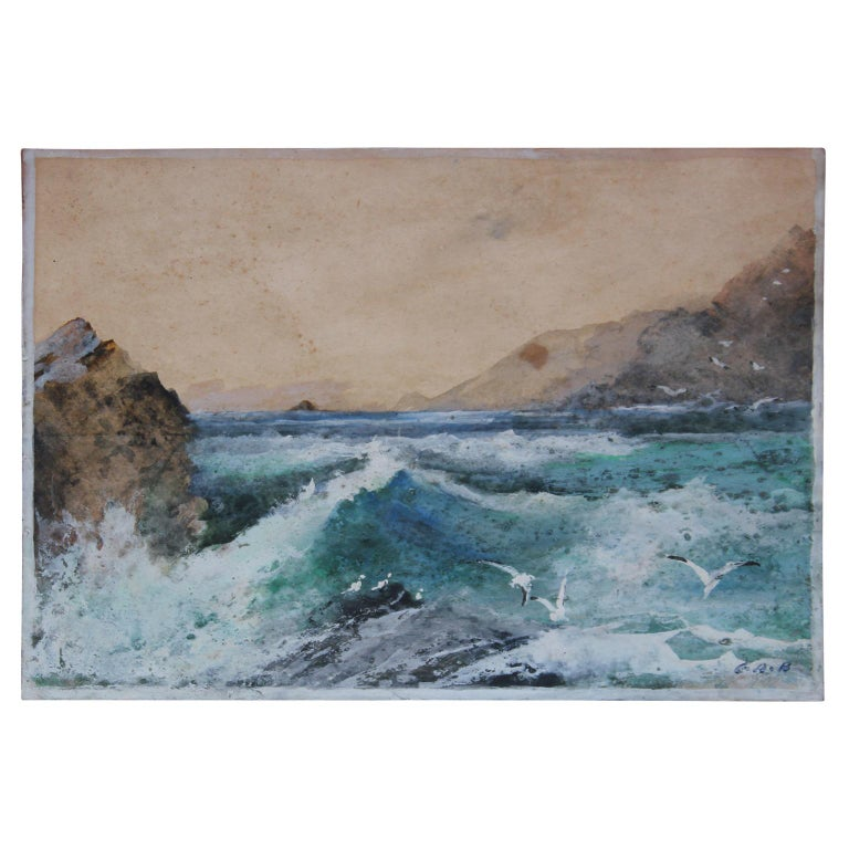 Early 20th Century California Seascape