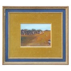 Impressionist Desert Landscape