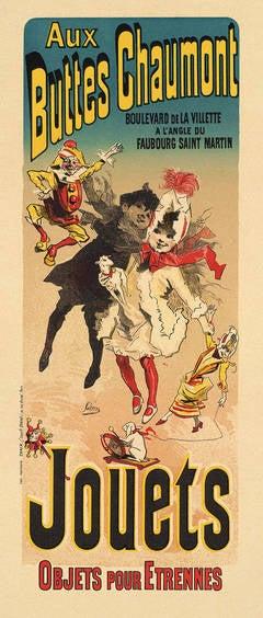 """Aux Buttes Chaumont, Jouets, from """"Les Maîtres de l'Affiche"""""""