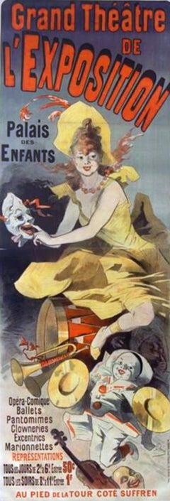 Grand Theatre de l'Exposition, from Les Maîtres de l'Affiche