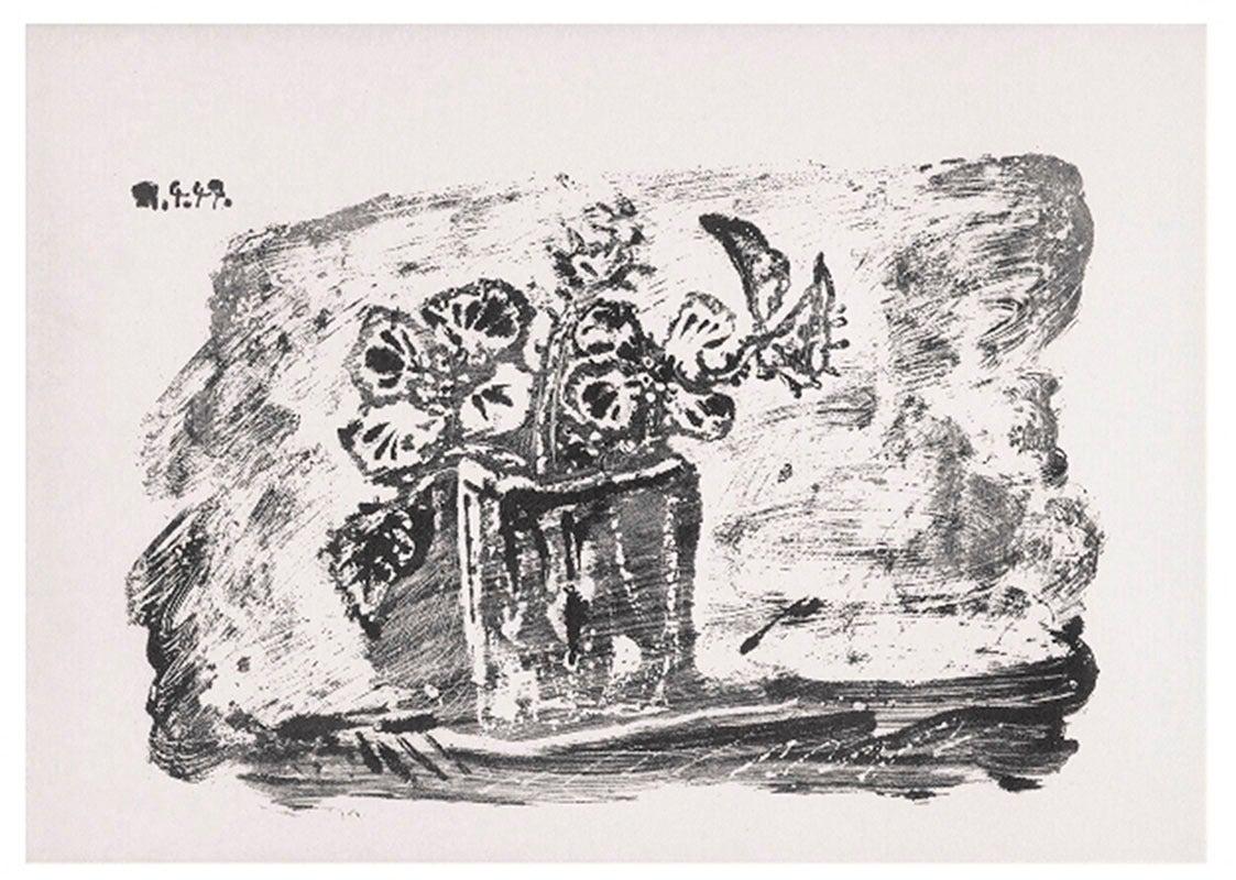 Pablo picasso le petit pot de fleurs print for sale at for Picasso petite fleurs