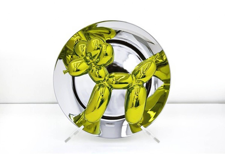 jeff koons balloon dog yellow for sale at 1stdibs