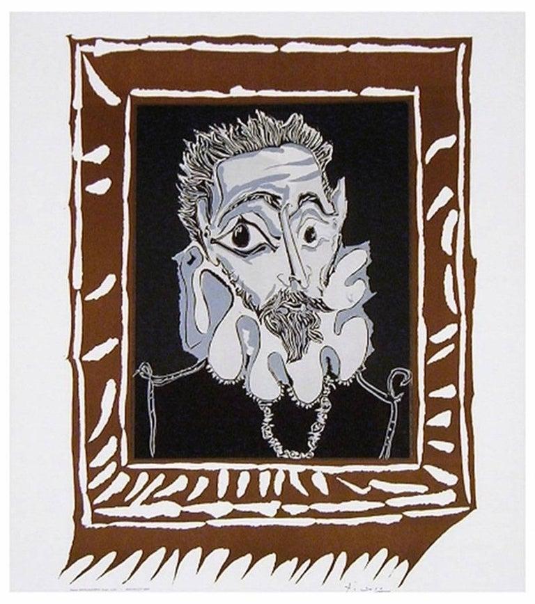 L'Homme à la Fraise (Man with Ruff) - Print by Pablo Picasso