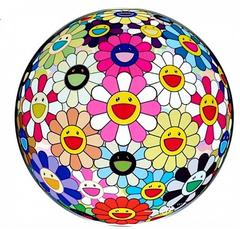 Flower Ball (3D) Pink