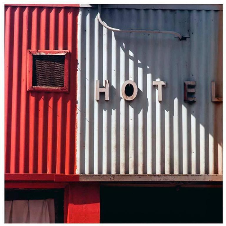 Robert Cottingham Photograph - Untitled II (Hotel)