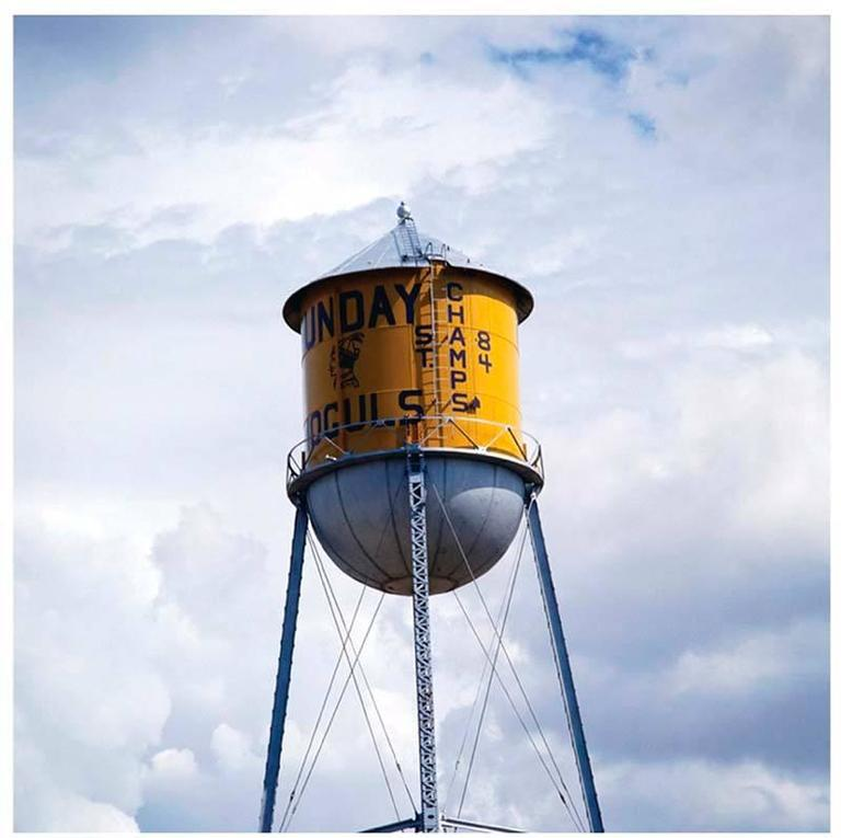 Untitled V (Champs Watertower) - Photograph by Robert Cottingham