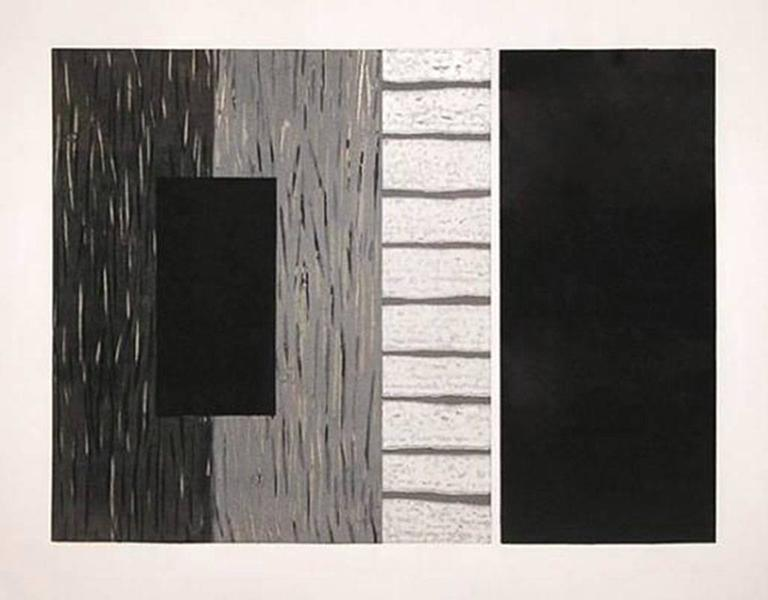 Without, Sean Scully - Print by Sean Scully