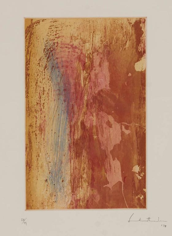 Helen Frankenthaler Abstract Print - Ganymede