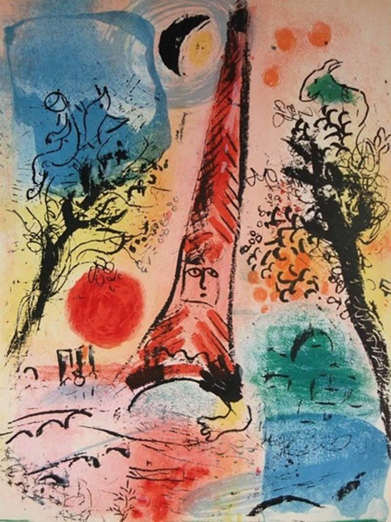 Marc Chagall Visions Of Paris For Sale At 1stdibs