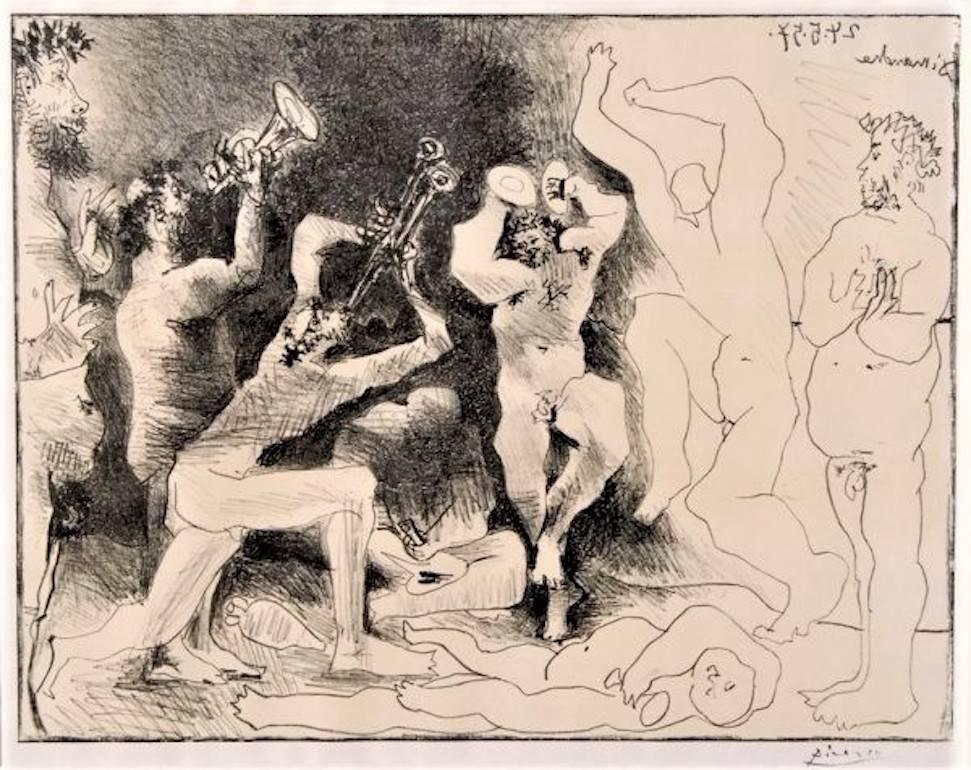 La Danse des Faunes, Pablo Picasso