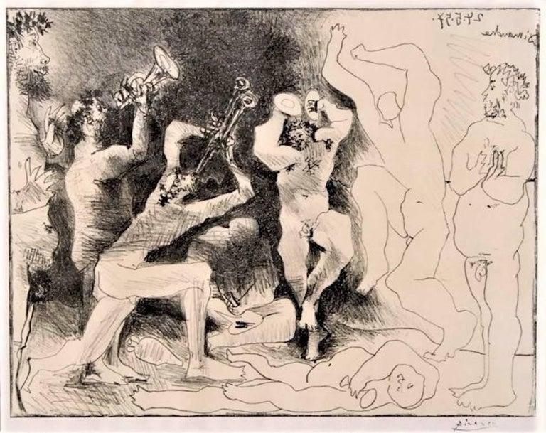 La Danse des Faunes, Pablo Picasso - Print by Pablo Picasso