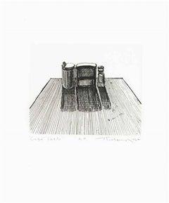 Café Table (Dispensers), Wayne Thiebaud