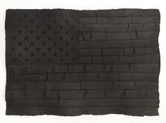 Robert Longo - Black Flag