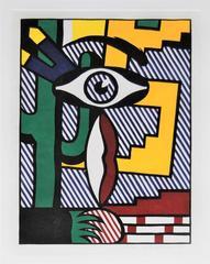 Roy Lichtenstein - American Indian Theme III