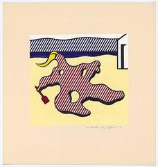 Nude on Beach, Roy Lichtenstein