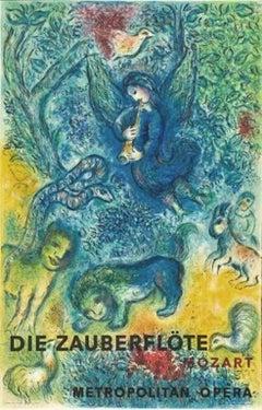 Die Zauberglote (The Magic Flute), Marc Chagall