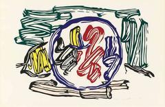 Roy Lichtenstein - Apple and Lemon