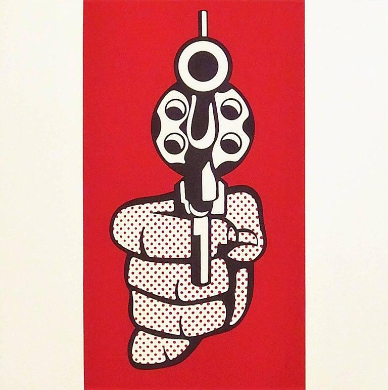 Pistol - Print by (after) Roy Lichtenstein