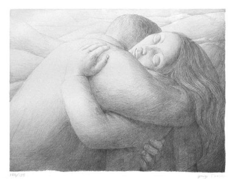 Lovers, George Tooker - Print by George Tooker