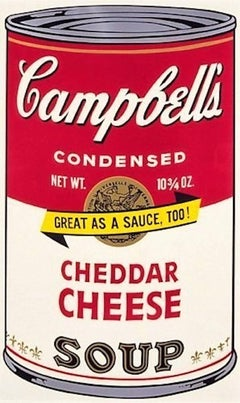 Campbell's Soup II: Chedder Cheese