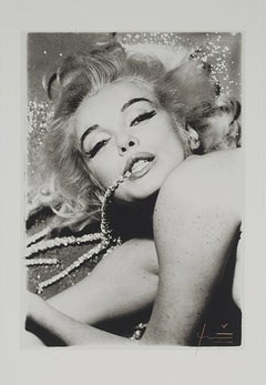 Marilyn with Jewels, Bert Stern