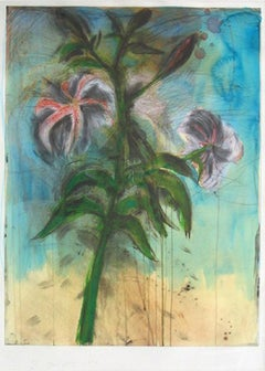 The Sky and Lilies, Jim Dine