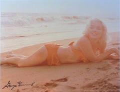 Marilyn On The Beach