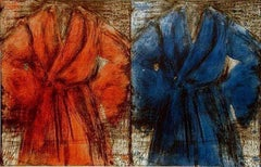 Red And Blue Robe, Jim Dine