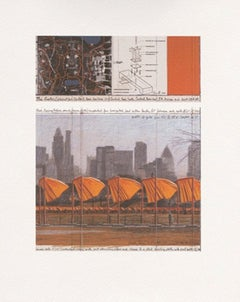The Gates (c), from the Project for Central Park, Christo and Jeanne-Claude