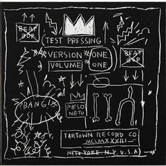 Beat Bop. Test Pressing, Version One, Volume One, Basquiat