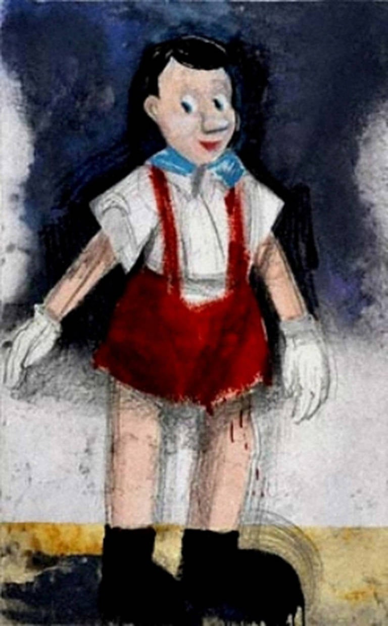 Red Pants II, Jim Dine
