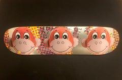 Monkey Train Skate Deck