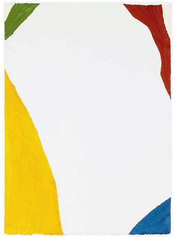 Wind Directions - Print by Helen Frankenthaler