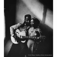 Muddy Waters and His Wife, Geneva, 1951