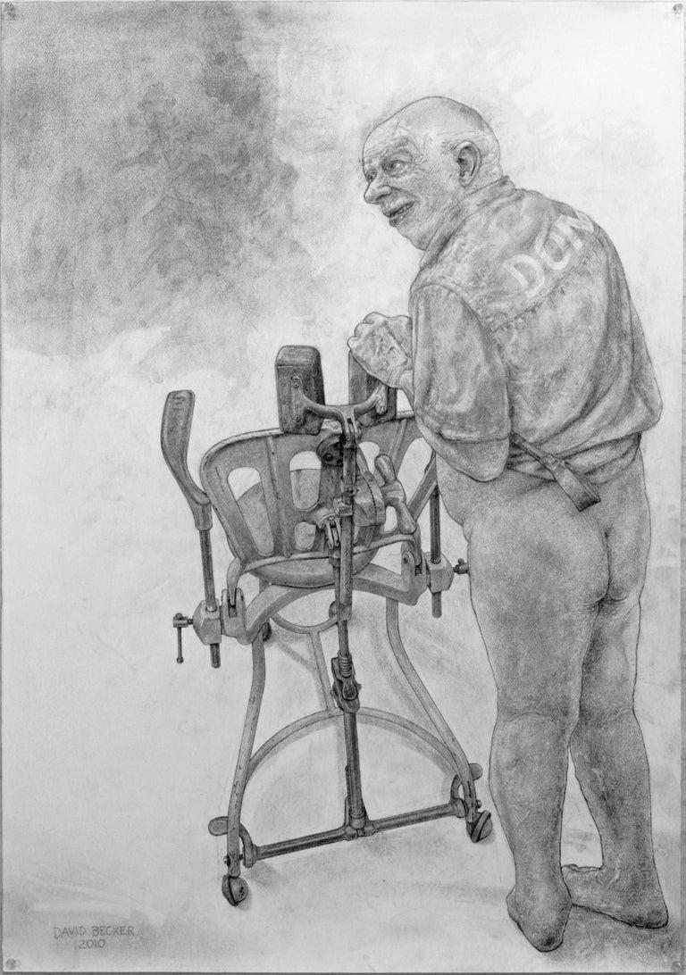David Becker Nude - Adjust to Fit