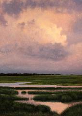 Twilight Cumulous Pond