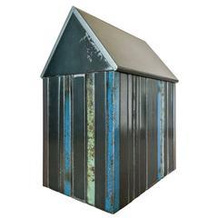 Structure #47, Multicolor Striped House
